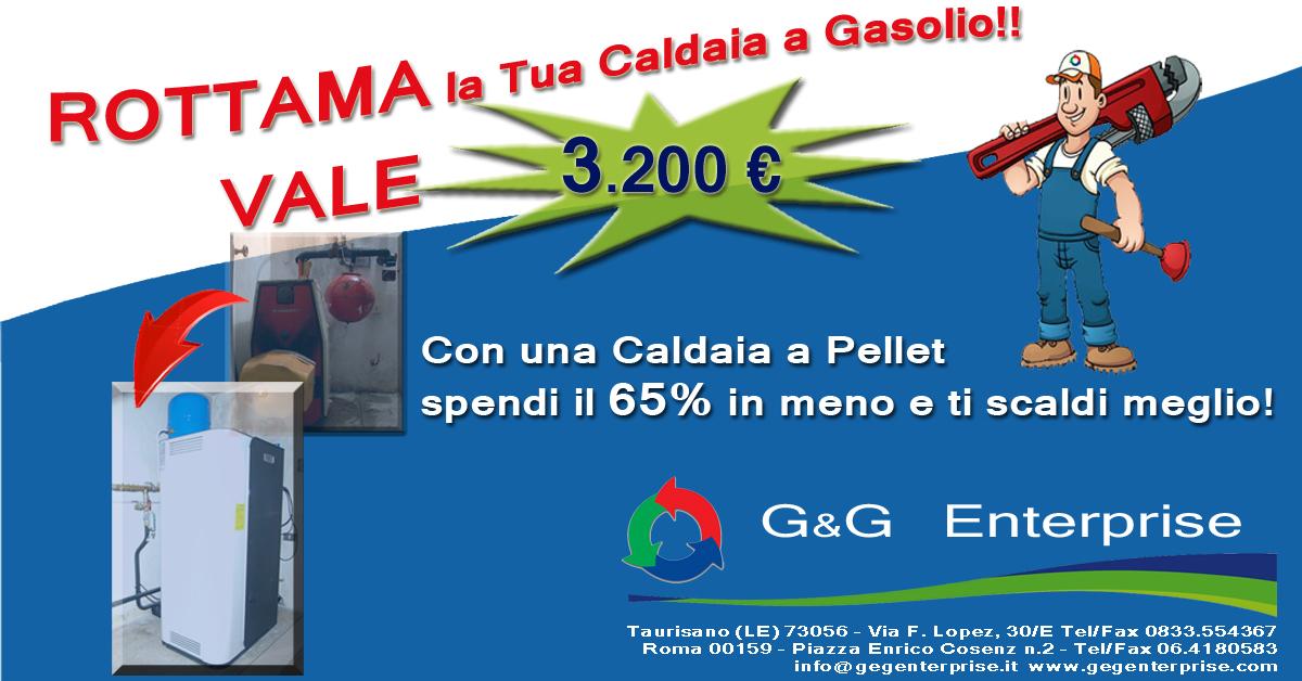 Rottama la tua caldaia a gasolio: vale 3.200 €